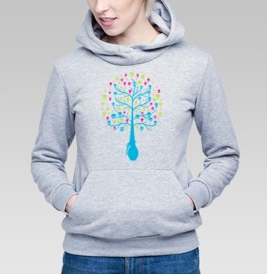 Tree... - Купить детские толстовки с оружием в Москве, цена детских толстовок с оружием  с прикольными принтами - магазин дизайнерской одежды MaryJane
