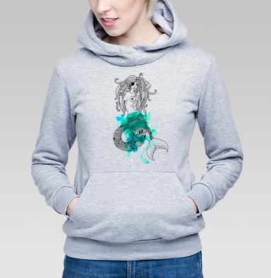Тру русалка - Купить детские толстовки со сказками в Москве, цена детских толстовок со сказками  с прикольными принтами - магазин дизайнерской одежды MaryJane