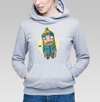 Усaч - Купить детские толстовки с усами в Москве, цена детских толстовок с усами с прикольными принтами - магазин дизайнерской одежды MaryJane
