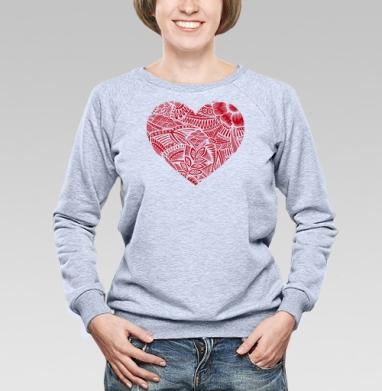 Чувство - Купить детские свитшоты паттерн в Москве, цена детских свитшотов с паттерном  с прикольными принтами - магазин дизайнерской одежды MaryJane