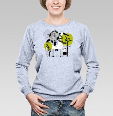 Прогулка - Купить детские свитшоты с персонажами в Москве, цена детских свитшотов с персонажами  с прикольными принтами - магазин дизайнерской одежды MaryJane