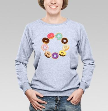 Сладкий пончик - Купить детские свитшоты с едой в Москве, цена детских свитшотов с едой  с прикольными принтами - магазин дизайнерской одежды MaryJane