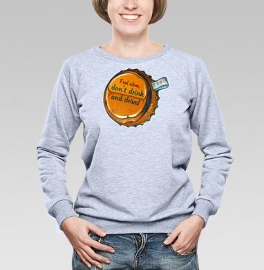 Трезвый водитель - Купить детские свитшоты алкоголь в Москве, цена детских свитшотов с алкоголем с прикольными принтами - магазин дизайнерской одежды MaryJane