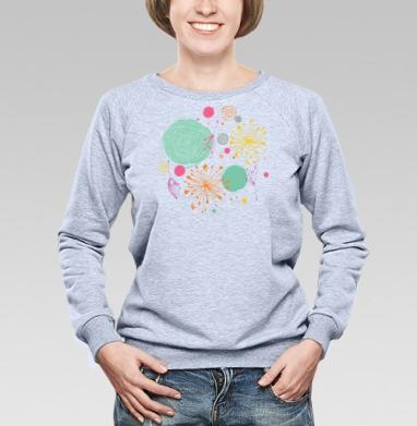 В весеннем воздухе - Купить детские свитшоты абстрактные в Москве, цена детских свитшотов абстрактных  с прикольными принтами - магазин дизайнерской одежды MaryJane
