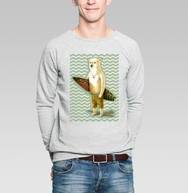 Алоха - Купить мужские свитшоты с летом в Москве, цена мужских  с летом  с прикольными принтами - магазин дизайнерской одежды MaryJane