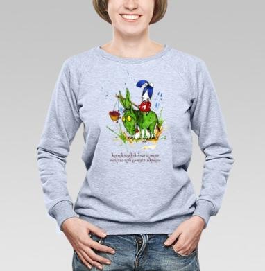 Анфиса и осел - Купить детские свитшоты Анфиса и звери в Москве, цена детских свитшотов Анфиса и звери  с прикольными принтами - магазин дизайнерской одежды MaryJane