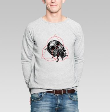 БогоКорова - Купить мужские свитшоты с геометрическим рисунком в Москве, цена мужских свитшотов с геометрическим рисунком  с прикольными принтами - магазин дизайнерской одежды MaryJane