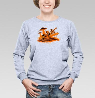Чапаев против пришельцев  - Купить детские свитшоты с роботами в Москве, цена детских свитшотов с роботами с прикольными принтами - магазин дизайнерской одежды MaryJane