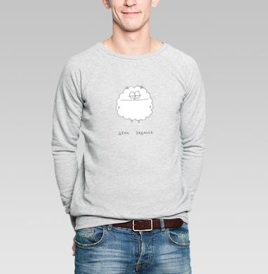 День задался - Купить мужские свитшоты с приколами в Москве, цена мужских свитшотов с приколами с прикольными принтами - магазин дизайнерской одежды MaryJane