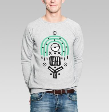 Ethnic monster - Купить мужские свитшоты этно в Москве, цена мужских  этно  с прикольными принтами - магазин дизайнерской одежды MaryJane