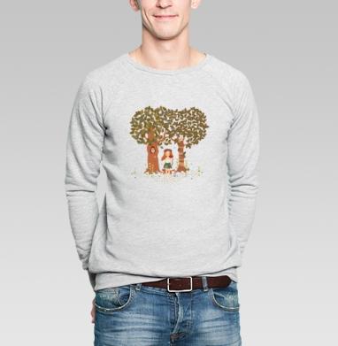 Фэйри - Купить мужские свитшоты с деревьями в Москве, цена мужских свитшотов с деревьями  с прикольными принтами - магазин дизайнерской одежды MaryJane