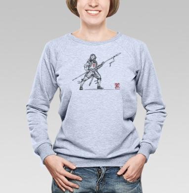 Freelancer - Cвитшот женский, серый-меланж  320гр, стандарт, мужские, Популярные