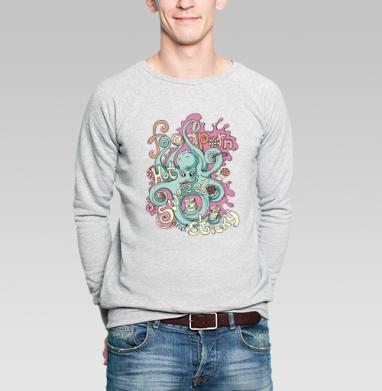 Фудпорн - Купить мужские свитшоты сладости в Москве, цена мужских свитшотов со сладостями  с прикольными принтами - магазин дизайнерской одежды MaryJane