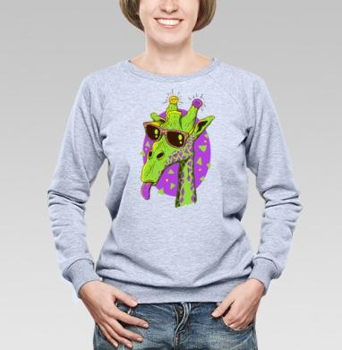 Жирафео - Купить детские свитшоты хипстерские в Москве, цена детских свитшотов хипстерских  с прикольными принтами - магазин дизайнерской одежды MaryJane