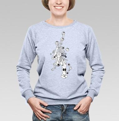 High power of Imagination - Купить детские свитшоты с дымом в Москве, цена детских свитшотов с дымом  с прикольными принтами - магазин дизайнерской одежды MaryJane