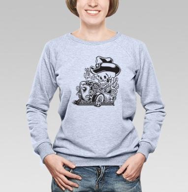 Hot Rod - Купить женские свитшоты с автомобилями в Москве, цена женских свитшотов с автомобилями  с прикольными принтами - магазин дизайнерской одежды MaryJane