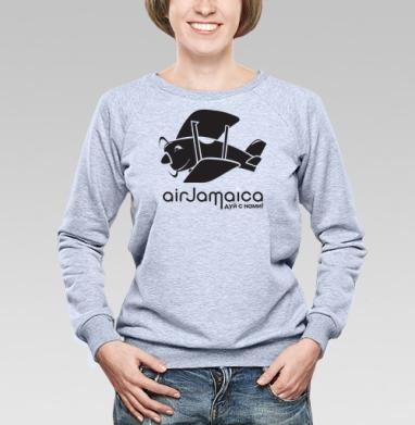Jamaica airlines - ямайская футболка - Купить детские свитшоты с дымом в Москве, цена детских свитшотов с дымом  с прикольными принтами - магазин дизайнерской одежды MaryJane
