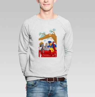 КОТО-КОП - Купить мужские свитшоты с собаками в Москве, цена мужских  с собаками  с прикольными принтами - магазин дизайнерской одежды MaryJane