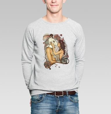 Кроликачасы - Купить мужские свитшоты красивые в Москве, цена мужских свитшотов красивых  с прикольными принтами - магазин дизайнерской одежды MaryJane
