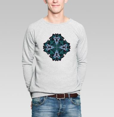 ЛЬВЫ - Купить мужские свитшоты с геометрическим рисунком в Москве, цена мужских свитшотов с геометрическим рисунком  с прикольными принтами - магазин дизайнерской одежды MaryJane