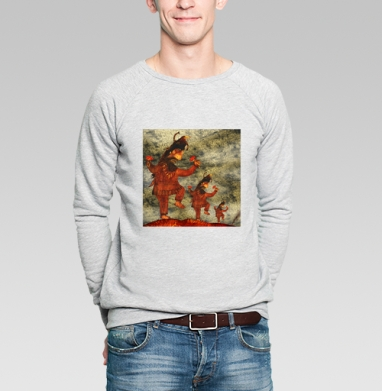 Mad Shaman - Купить мужские свитшоты с грибами в Москве, цена мужских свитшотов с грибами с прикольными принтами - магазин дизайнерской одежды MaryJane