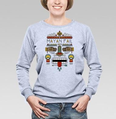 Mayan Fail - Купить детские свитшоты с индейцами в Москве, цена детских свитшотов с индейцами  с прикольными принтами - магазин дизайнерской одежды MaryJane