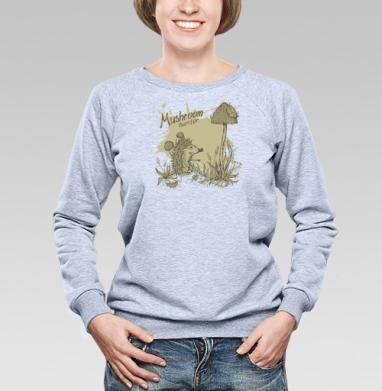 Mushroom_hunter - Купить детские свитшоты с грибами в Москве, цена детских свитшотов с грибами с прикольными принтами - магазин дизайнерской одежды MaryJane