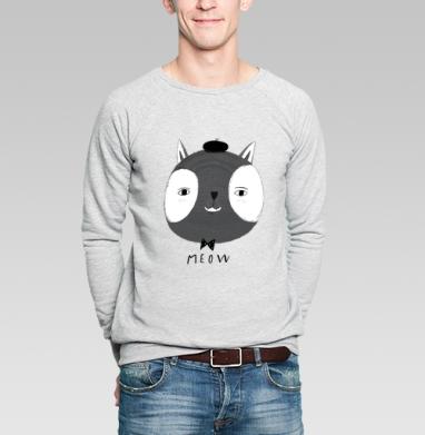 Мяяу - Купить мужские свитшоты со смайлами в Москве, цена мужских  со смайлами с прикольными принтами - магазин дизайнерской одежды MaryJane