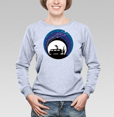 Night Scene - Купить детские свитшоты с дымом в Москве, цена детских свитшотов с дымом  с прикольными принтами - магазин дизайнерской одежды MaryJane