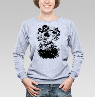 Poisonous fungus - Купить детские свитшоты с дымом в Москве, цена детских свитшотов с дымом  с прикольными принтами - магазин дизайнерской одежды MaryJane