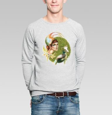 Портрет Сесилии Галлерани - 2 - Купить мужские свитшоты с лицом в Москве, цена мужских  с лицом  с прикольными принтами - магазин дизайнерской одежды MaryJane