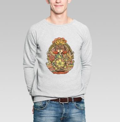 Пробуждение солнца - Купить мужские свитшоты красивые в Москве, цена мужских свитшотов красивых  с прикольными принтами - магазин дизайнерской одежды MaryJane
