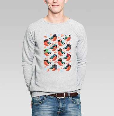 Снегири - Купить мужские свитшоты с приколами в Москве, цена мужских  с приколами  с прикольными принтами - магазин дизайнерской одежды MaryJane