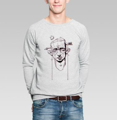 Стереофейс - Купить мужские свитшоты с лицом в Москве, цена мужских  с лицом  с прикольными принтами - магазин дизайнерской одежды MaryJane