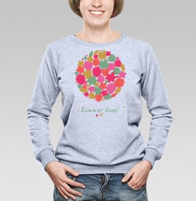 Summer days - Купить детские свитшоты абстрактные в Москве, цена детских свитшотов абстрактных  с прикольными принтами - магазин дизайнерской одежды MaryJane