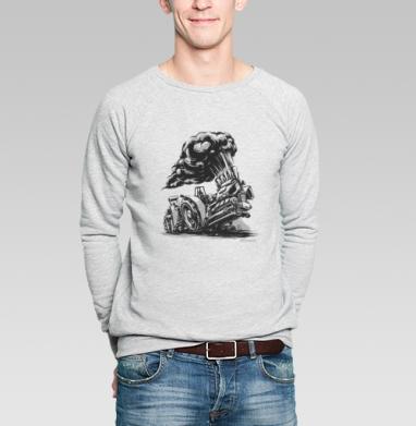 Трактор пуллинг - Купить мужские свитшоты спортивные в Москве, цена мужских  спортивных  с прикольными принтами - магазин дизайнерской одежды MaryJane