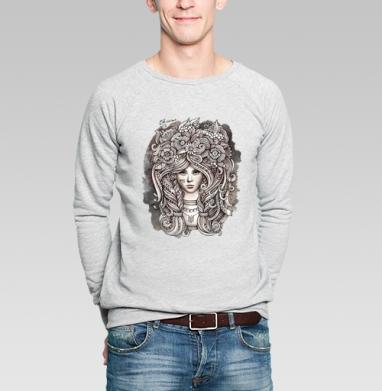Украинка - Купить мужские свитшоты с илюстрациями в Москве, цена мужских свитшотов с илюстрациями  с прикольными принтами - магазин дизайнерской одежды MaryJane