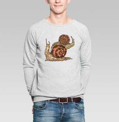 УЛИТКИ - Купить мужские свитшоты с насекомыми в Москве, цена мужских свитшотов с насекомыми  с прикольными принтами - магазин дизайнерской одежды MaryJane