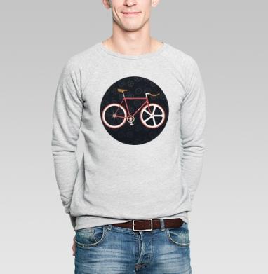Велик - Купить мужские свитшоты с велосипедом в Москве, цена мужских свитшотов с велосипедом с прикольными принтами - магазин дизайнерской одежды MaryJane