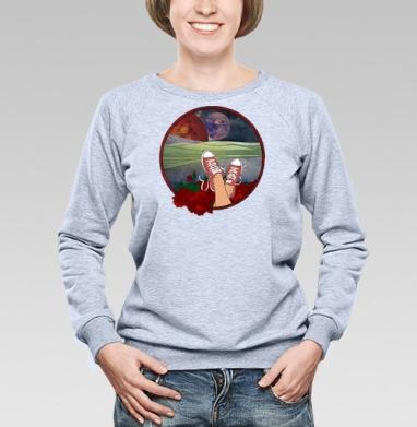 We need a Doctor - Купить женские свитшоты с природой в Москве, цена женских свитшотов с природой  с прикольными принтами - магазин дизайнерской одежды MaryJane