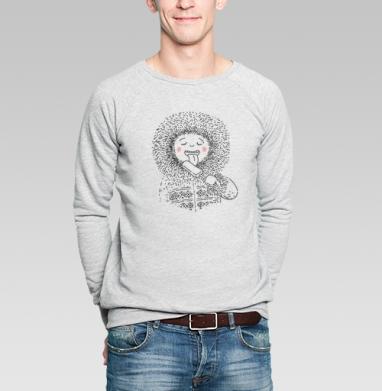 Я ЯКУТ - Купить мужские свитшоты с мороженным в Москве, цена мужских  с мороженным  с прикольными принтами - магазин дизайнерской одежды MaryJane