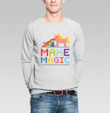 ЮНИКОРН - Купить мужские свитшоты Текстуры в Москве, цена мужских свитшотов Текстуры с прикольными принтами - магазин дизайнерской одежды MaryJane