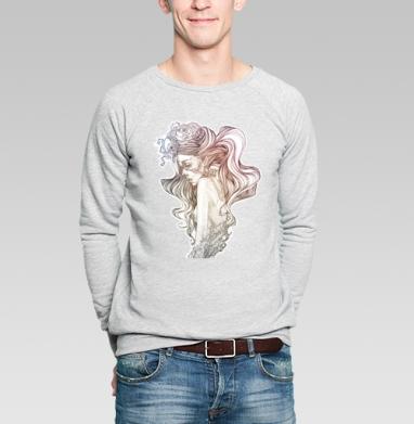 A little pain - Купить мужские свитшоты с роами в Москве, цена мужских свитшотов с розой с прикольными принтами - магазин дизайнерской одежды MaryJane