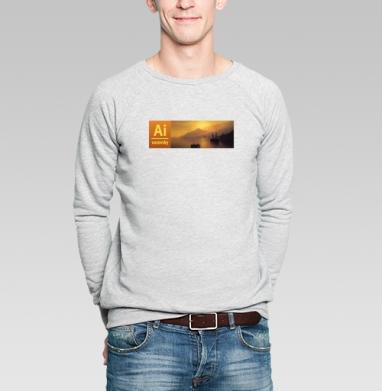 Ai vazovsky - Купить мужские свитшоты с живописью в Москве, цена мужских свитшотов с живописью  с прикольными принтами - магазин дизайнерской одежды MaryJane