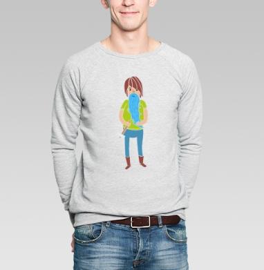 Борода  - Купить мужские свитшоты с людьми в Москве, цена мужских  с людьми  с прикольными принтами - магазин дизайнерской одежды MaryJane