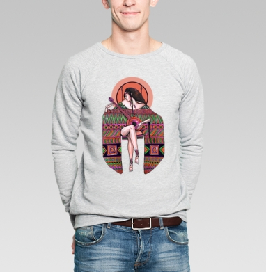 Ethnica - Купить мужские свитшоты этно в Москве, цена мужских  этно  с прикольными принтами - магазин дизайнерской одежды MaryJane
