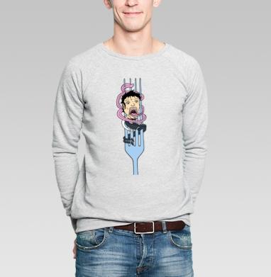 Fork - Купить мужские свитшоты с едой в Москве, цена мужских свитшотов с едой  с прикольными принтами - магазин дизайнерской одежды MaryJane