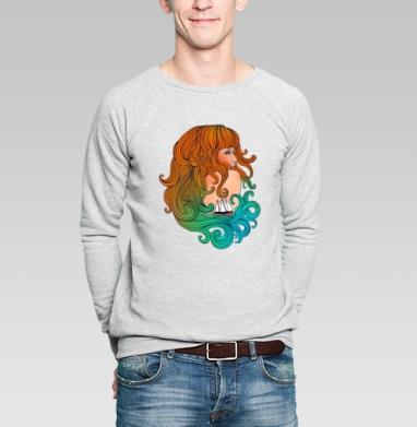 Girl & sea - Купить мужские свитшоты романтика в Москве, цена мужских  романтических  с прикольными принтами - магазин дизайнерской одежды MaryJane