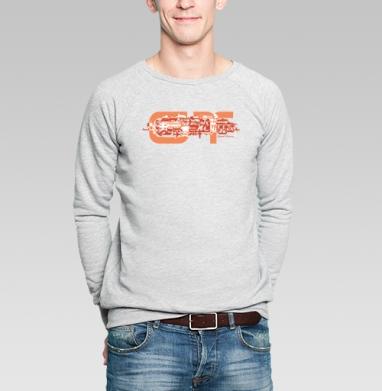 Grand Turismo - Купить мужские свитшоты с мотоциклами в Москве, цена мужских свитшотов с мотоциклами  с прикольными принтами - магазин дизайнерской одежды MaryJane