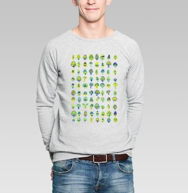 Infected mushrooms - Купить мужские свитшоты с грибами в Москве, цена мужских свитшотов с грибами с прикольными принтами - магазин дизайнерской одежды MaryJane